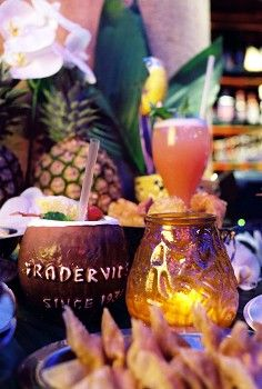 London, England: Trader Vic's (Pu pu platter and a Mai Tai. The London one is the original, to me.)