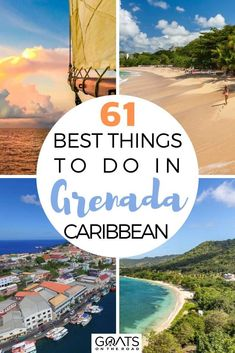Planning to travel to Grenada and want to know the best attractions on the island? Here are the 61 best things to do in Grenada, whether you want to visit the beautiful pristine beaches, jungle surrounded waterfalls, amazing food and more! Check this out to start planning your trip now! | #caribbeantravel #visitgrenada #wanderlust Holiday Destinations, Vacation Destinations, Vacation Trips, Dream Vacations, Best Tropical Vacations, Caribbean Vacations, Travel Ideas, Travel Inspiration, Travel Tips