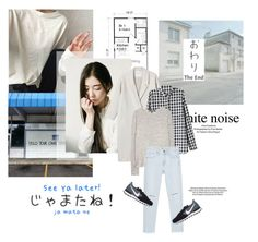 """""""words you say are the things that are going to remain in my mind forever"""" by pit-a-pat ❤ liked on Polyvore featuring Monki, Chicnova Fashion, rag & bone, Zara and NIKE"""