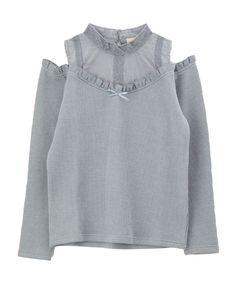 インナー重ね肩開きカットプルオーバー | axes femme online shop