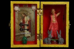 Keys Eggs Rabbits and Religion by markfrancombe on Etsy, $59.00