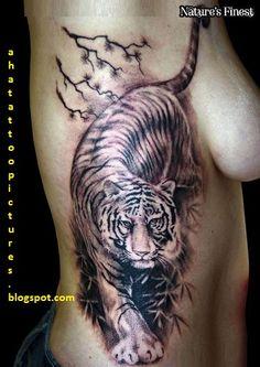 tiger tattoo thigh - Google Search