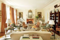 18th&19th century fine antiques coexist beautifully with moderne pieces   Bunny Williams   Architectural Digest...