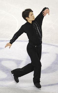 Japan's Takahiko Kozuka performs during the Men Free Skating competition of the World Figure Skating Championships on March 25, 2010 at the Palavela ice-rink in Turin.