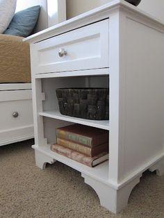 DIY wood furniture feet