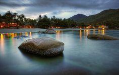 Silver Beach in Koh Samui, Thailand`