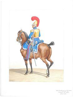 1830. Carabiniers de Monsieur. Carabinier (1er Régiment).