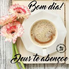♡ Imagens & Mensagens ♡ - ღ♡ღ Saudações - Comunidade - Google+ Coffee Love, Good Morning Quotes, No One Loves Me, Gods Love, Thoughts, Humor, Signs, Cards, Facebook
