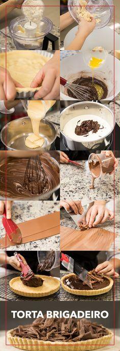O verdadeiro mix do amor: torta de chocolate + Dia dos Namorados. Tem casal chocólatra aí?