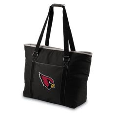 Picnic Time Tahoe Arizona Cardinals Insulated Cooler Tote in Black d3daed48b0031