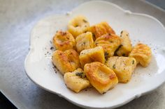 Pumpkin Ricotta Gnocchi with Brown Butter and Sage by simplyrecipes: 30 minute prep #Gnocchi #Pumpkin