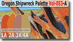 Oregon Shipwreck Color Palette by Polymer Clay Tutor