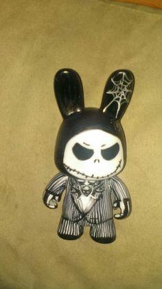 Jack Rabbit before chrismas. Blank figurine draw by Val alias sorina888