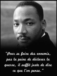Martin Luther King, Meaningful Quotes, Inspirational Quotes, Quote Citation, French Quotes, Some Words, Positive Attitude, Positive Affirmations, Words Quotes
