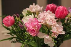 Virágok, Csokor, Természet, Tavaszi