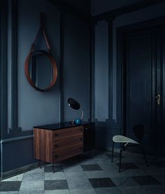 Jacques Adnet's mirrors by Gubi