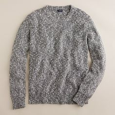 Marled sweater with J Crew