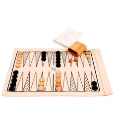 Roll-Up Backgammon & Checkers