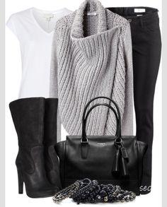 Nice sweater & look