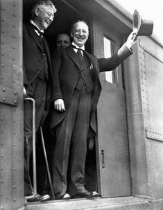 Al Smith during his presidential campaign in 1928. He lost to Herbert Hoover, whose supporters viciously attacked Smith for his Catholicism. Smith ceased being active in politics after this.