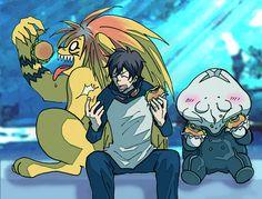 Ushio & Tora - Blood Blocklade Battlefront Ushio To Tora, Sengoku Basara, Manga, Libra, Crossover, Random Things, Fan Art, Pictures, Fictional Characters