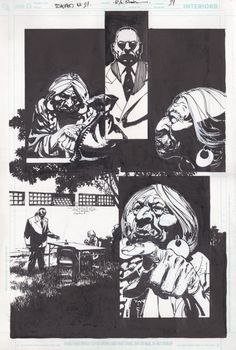 Scalped #21: The Gravel in Your Guts par R. M. Guéra, Jason Aaron - Planche originale
