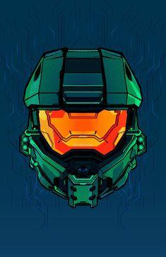 Halo Reach, Cortana Halo, Crane, Helmet Drawing, Halo Spartan, Halo Armor, Halo Master Chief, Star Force, Hollow Art