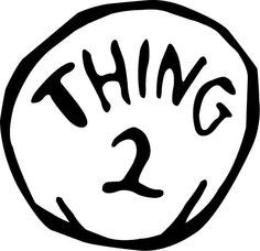 thing one and thing two printables   Halloween DIY: Thing 1 & Thing 2 Costume   LaurenConrad.com