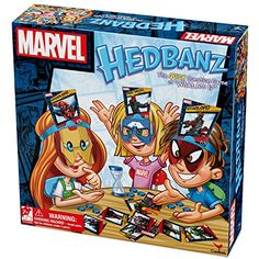 Marvel Hedbanz Board Game     For more information 7358bb7fcc8e1