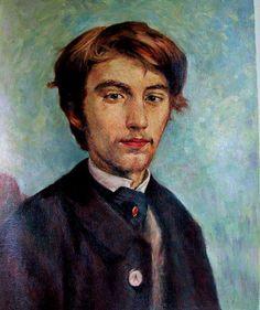 Toulouse-Lautrec, - Portrait of Henri de Bernard (artist) 1886