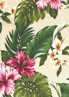 Beautiful Vintage Hawaiian Wallpaper