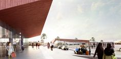 Narrowminded + BOM Propose New Central Bus Station for Marrakech