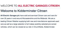 WELCOME! http://www.allelectric.co.uk/citroen/