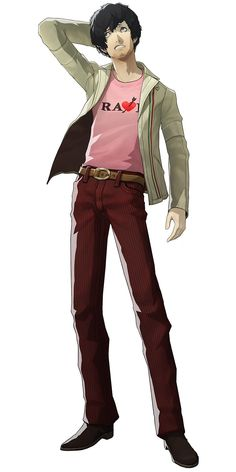 Vincent Brooks Voiced By: Koichi Yamadera (Japanese), Troy Baker (English)