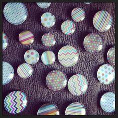 DIY magnets by Kathryn Anne Cute Locker Ideas, Locker Designs, Diy Magnets, School Supplies, School Ideas, Lockers, Back To School, University, Mini