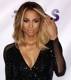 Love Ciara's blonde low lights