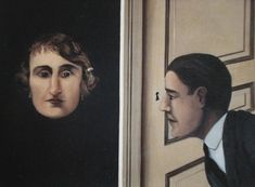MAGRITTE - The Spy 1928