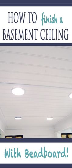 how-to-finish-a-basement-ceiling-with-beadboard . how-to-finish-a-basement-ceiling-with-beadboard Basement Windows, Basement Walls, Basement Bedrooms, Basement Flooring, Basement Ideas, Basement Layout, Basement Waterproofing, Finish Basement Ceiling, Walkout Basement