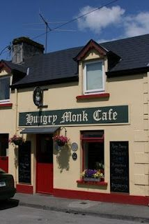 The Hungry Monk Cafe in Cong, Ireland.  You must try a slice of Banoffee Pie