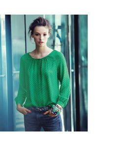 """Mona Johannesson in """"Emerald City"""" for the J.Crew Catelogue 2012 