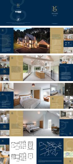 Brochure design for a property development company - Graphic Templates Search Engine Brochure Indesign, Template Brochure, Brochure Layout, Web Layout, Graphic Design Brochure, Brochure Design Inspiration, Book Design Layout, Corporate Brochure Design, Hotel Brochure