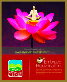 Embrace Health at  www.ayurvedicvillage.com