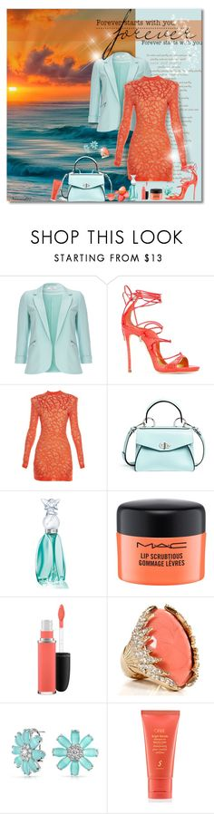 """Forever..."" by nannerl27forever ❤ liked on Polyvore featuring Poesia, Wallis, Dsquared2, Balmain, Proenza Schouler, Anna Sui, MAC Cosmetics, Bling Jewelry and Oribe"