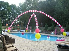 pool party decorations | ... pool party? Follow these tips to make your party a great success