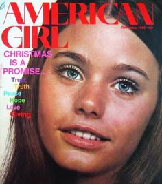 American Girl Magazine  - Susan Dey on the cover