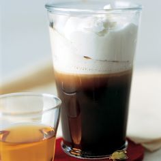 This drink is similar to Irish coffee in its delectable creaminess. For best results, use strong coffee.