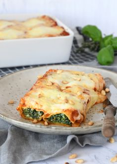 Cannelloni met spinazie en ricotta - Laura's Bakery