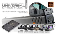 Gun Universal (Optics) Mount for Glock - Glock™ - PISTOL - Products