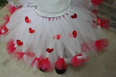 Valentine's Day Tutu...should probably be something I'd pin for Arrabella, howEVER...I would totally rock it too hahaha <3