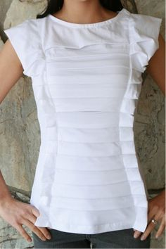 T-Shirt <<< LOVE this! too small add new shirt under arms down sides!